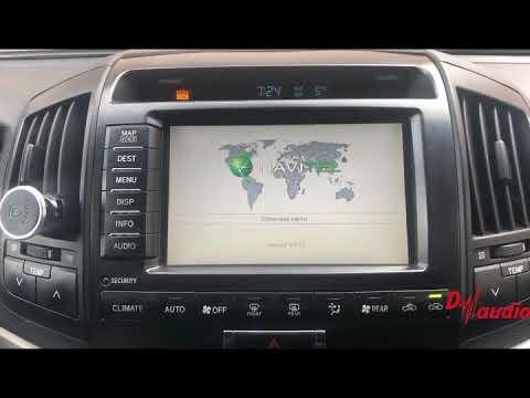 Мультимедийный навигационный блок Navitouch NT3305 для Toyota/Lexus 2007-2010