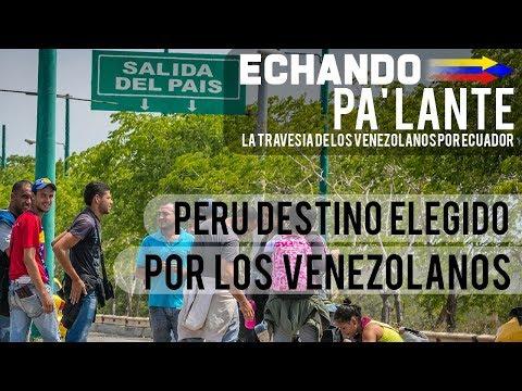 Migrantes venezolanos lo apuestan todo en su camino para llegar a Perú