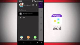 WeCal - Smart Calendar+Weather YouTube video