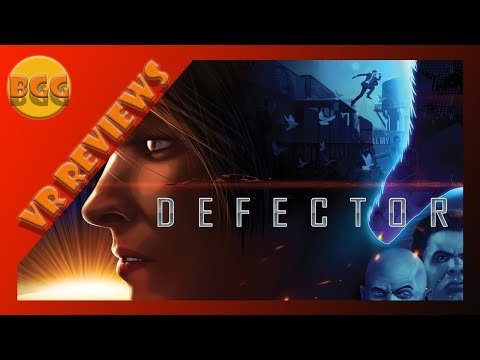 Defector VR | Review This is a fun Over the top Mission Impossible Game in VR.