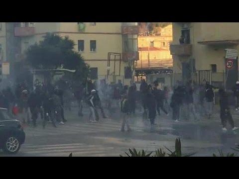 Νάπολη: Επεισόδια σε συγκέντρωση της Λέγκας του Βορρά
