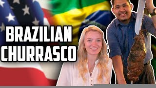 Levei a Holly pra uma churrascaria brasileira e só deixei ela falar português! Se inscreva! Facebook: https://goo.gl/gwTHxX Holly's Instagram: ...
