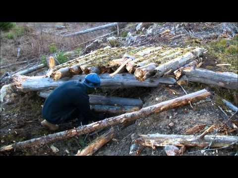 The Log Shelter - Part 1