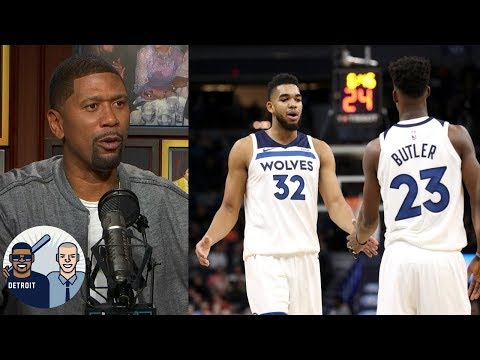Video: Jalen Rose: Karl-Anthony Towns will play better when Jimmy Butler is gone | Jalen & Jacoby