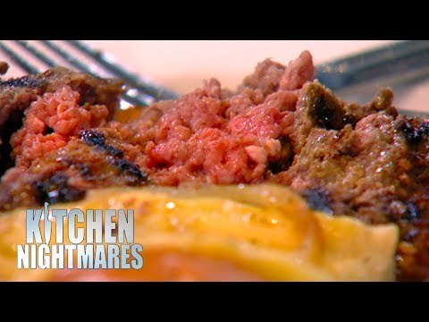 Gordon Ramsay Served A RAW Burger | Kitchen Nightmares