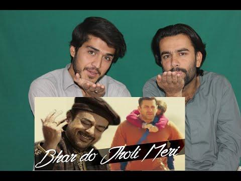 AFGHAN REACTS TO |Bhar Do Jholi Meri Full Video Song Bajrangi Bhaijaan Salman khan |AFGHAN REACTORs