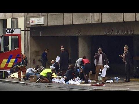 Καρέ – καρέ το χτύπημα στο μετρό των Βρυξελλών