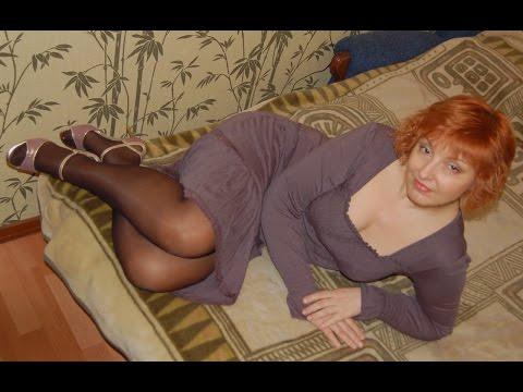 ножки зрелых дам чулках фото