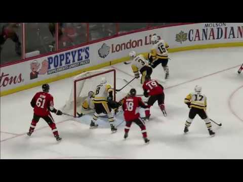 Video: Gotta See It: Penguins' Murray with unbelievable desperation save on Senators' Hoffman