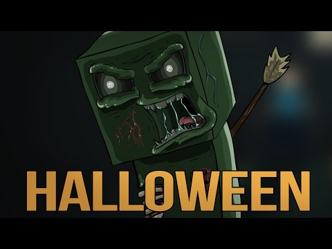 The Creepy Dead - Halloween (drawing timelapse)