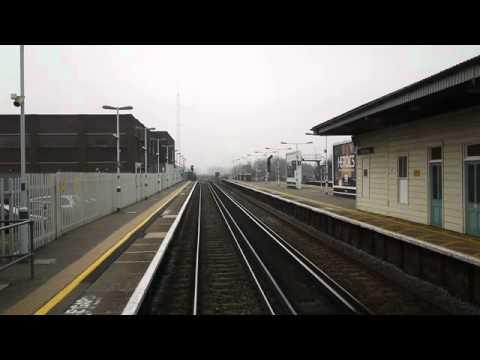 A001002 Blackfriars to Brighton, Driver POV
