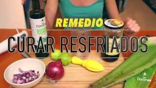 Aloe Vera Sábila y miel para Curar Resfriado. Remedio Casero
