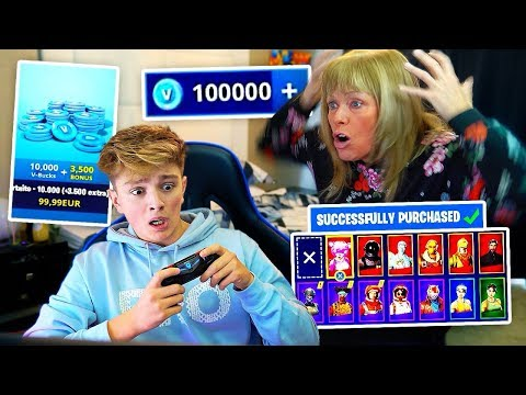 Video Kid Spends $500 on FORTNITE with Mom's Credit Card... [MUST WATCH] download in MP3, 3GP, MP4, WEBM, AVI, FLV January 2017