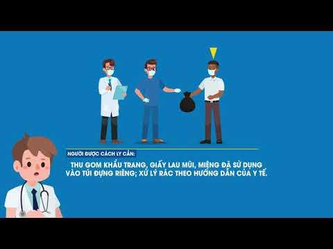 Dịch bệnh COVID-19: Hướng dẫn cách ly tại nhà