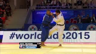 Beka Gviniashvili (Georgia) vs Patryk Ciechomski (Poland) World Judo Championships 2015Judo - 90kg