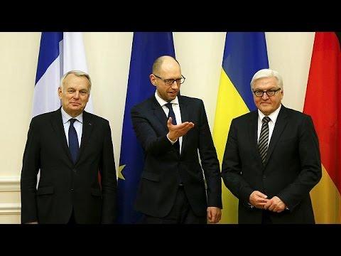 Στο Κίεβο οι ΥΠΕΞ Γερμανίας-Γαλλίας