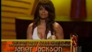 Gracious Janet Jackson Commending So Many Standing Ovations In One Speech