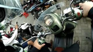8. [Motovlog #1] Perkenalan, Jalan-jalan. (VESPA GTV 250)