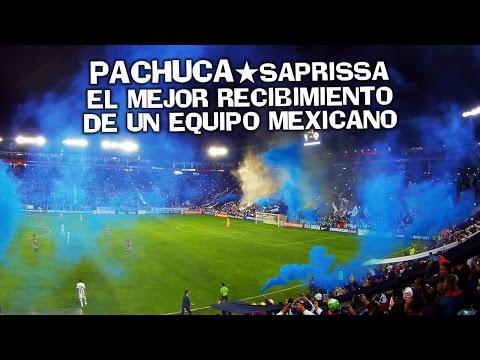 La PASIÓN en el Hidalgo ★ PACHUCA vs. Saprissa - Cuartos de Final Concachampions 2016-17 - Barra Ultra Tuza - Pachuca