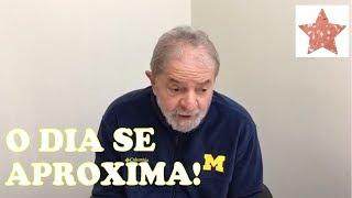 Lula diz se sentir tranquilo em relação a sua possível breve prisão, detona os procuradores do ministério público e ainda diz no...