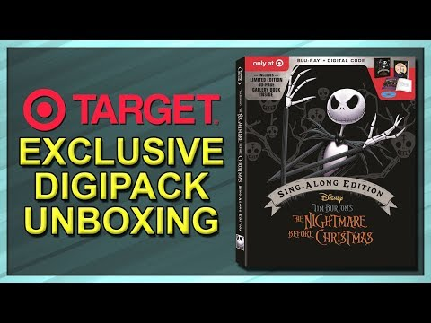 The Nightmare Before Christmas Target Exclusive 25th Anniversary Digipack Unboxing