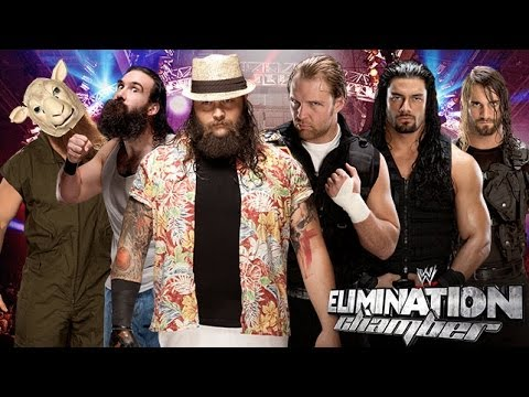 WWE 2K14  WWE Elimination Chamber 2014  The Wyatt Family vs The Shield    Wwe 2k14 The Wyatt Family Vs The Shield