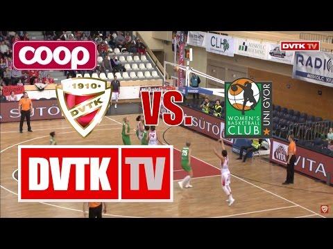COOP Női Magyar Kupa elődöntő. Aluinvent DVTK  - CMB Cargo UNI Győr
