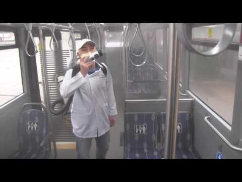 Büyükşehir'in otobüslerinde sağlıklı yolculuk