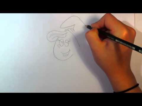 Schlumpfine zeichnen lernen / Schlumpfine malen – Anleitung