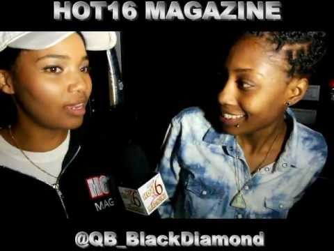 QB Black Diamond after her URL battle w/ Jaz The Rapper Hot16 Magazine Exclusive