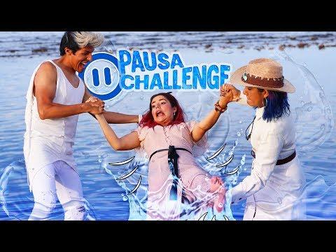 Videos musicales - PAUSA CHALLENGE EN LA PLAYA  LOS POLINESIOS RETO