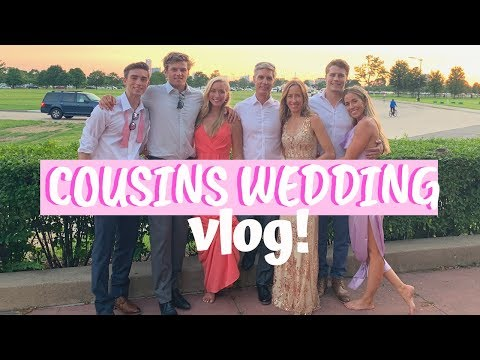 RYAN MEETS THE WHOLE FAM! MY COUSIN GETS MARRIED | Maddie Woods