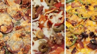 3 Incredible Pizza Recipes with AsapSCIENCE by The Domestic Geek