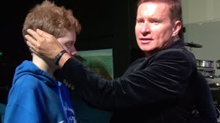 Deaf ears open & no more hearing aides -  John Mellor Healing & Miracles Ministry