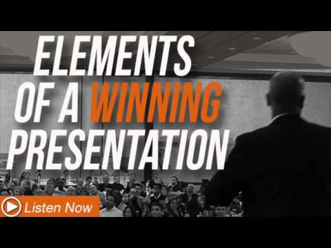 Elements of a Winning Presentation - Sales Mastery