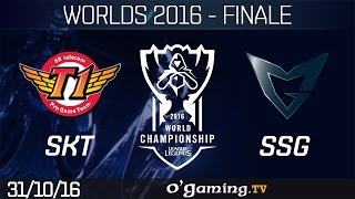 SKT vs SSG - World Championship 2016 - Playoffs - Finale