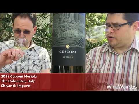 2015 Cesconi Nosiola The Dolomites, Italy Shiverick Imports White Wine
