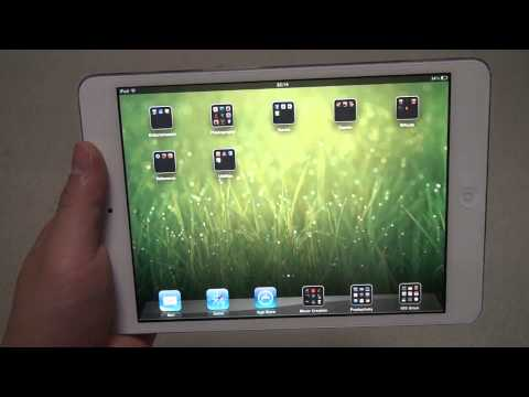 Apple iPad Mini Hands On Review by tkviper - White 64GB WIFI Only Model fr