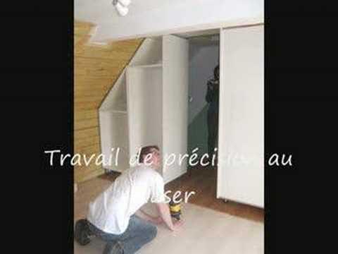 comment construire placard sous escalier