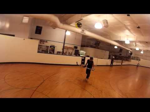 Goalie Cam - Warmups at Empire Roller Rink