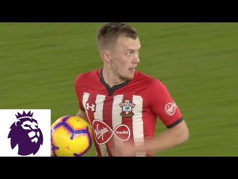 Video: Southampton's Ward-Prowse fires in equalizer v. Crystal Palace | Premier League | NBC Sports