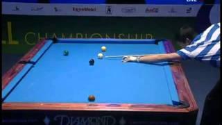 2011 WPA World 9-Ball Championship Final 1 /10 Yukio Akakariyama Vs. Ronnie Alcano