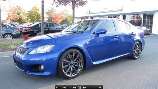 2008 Lexus IS-F Start Up, Exhaust, And In Depth Tour