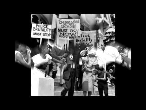 MLK We Shall Overcome Song with Civil Rights Pictures