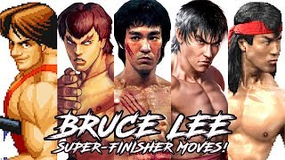 "Video TOP 10 ""BRUCE LEE"" Style Super/FinisheR Moves in Fighting Games! MP3, 3GP, MP4, WEBM, AVI, FLV Februari 2019"