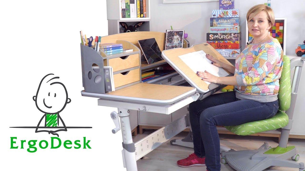 Ergonomiczne biurko i krzesło dla dziecka Ergodesk