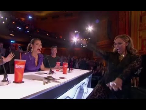 Tyra Banks Hits Her FIRST EVER GOLDEN BUZZER!!! On America's Got Talent 2017