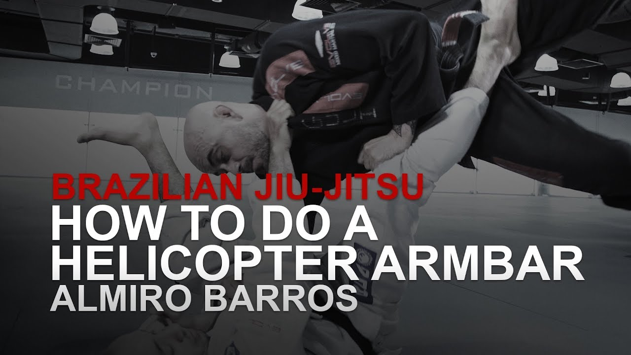 BJJ: How To Do A Helicopter Armbar | Evolve University