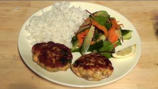Healthy Thai Salmon Burgers Diet Food Recipe How To Make