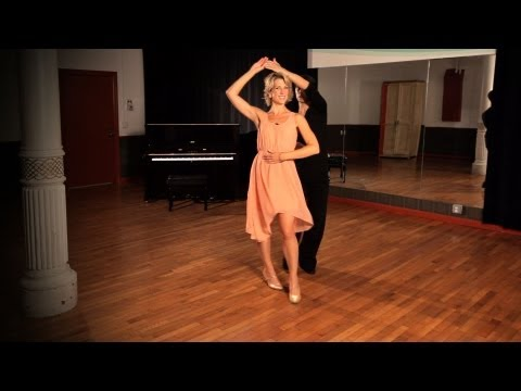 Foxtrot Promenade w/ Lady Underarm Turn | Ballroom Dance
